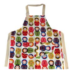 Babushka doll kids' apron