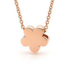 Gold baby blossom necklace (various golds)