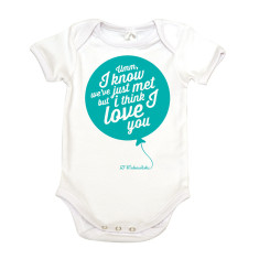 Just met organic cotton baby onesie