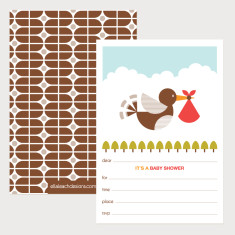 Baby Shower Invitations (Pack of 12)