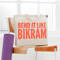Bend it like bikram bag