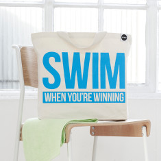 Swim when you're winning bag