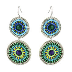 The tahina earrings (various colours available)