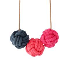 Hong Kong nautical knot necklace