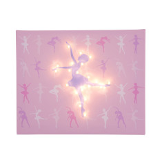 Light-up ballerina canvas