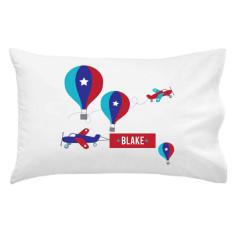 Boys' personalised pillowcases (various designs)