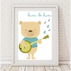 Banjo bear print