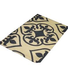 Baroque jute door or floor mat
