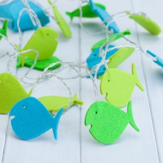 Childs Fish Fairy String Lights