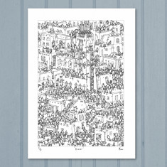 Bazaar limited edition print by Moose Allain