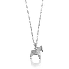 Horse origami necklace