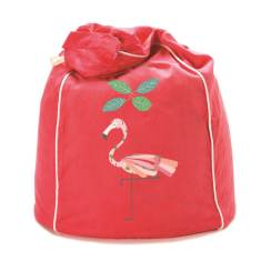 Fancy flamingo kids' beanbag cover (various colours)
