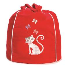 Kitty kat kids' beanbag cover (various colours)
