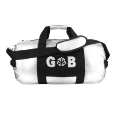 Personalised Silver Kit Bag