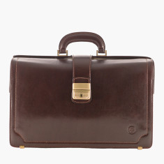 The Basilio Lawyers Leather Briefcase