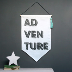 Adventure Tassel Hanging Flag