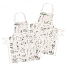 British barbecue organic apron