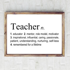 Teacher dictionary print