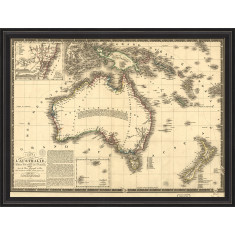 Map of Australia circa 1826
