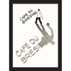 Cafe du Bresil Print
