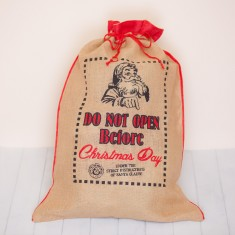 Large Eco Friendly Christmas Sack
