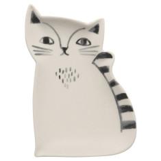 Cat Ceramic Trinket Tray