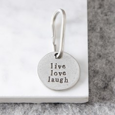Live Love Laugh Key Ring