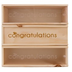 Congratulations Wine Box