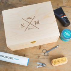 Personalised Male Grooming Box