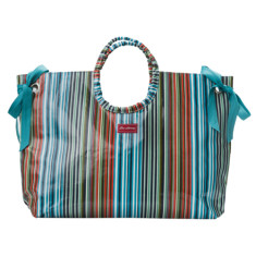 Downey Stripe beach bag