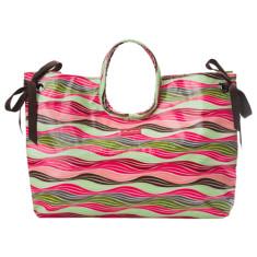 Wilson stripe beach bag