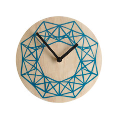 Objectify beams wall clock