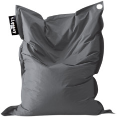 Big indoor/outdoor beanbag in charcoal (grey)