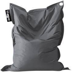 Big indoor/outdoor beanbag in charcoal (grey)