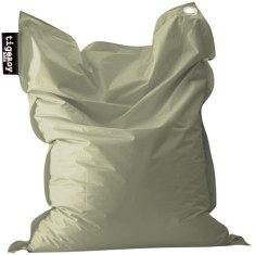 Big indoor/outdoor beanbag in khaki (green)