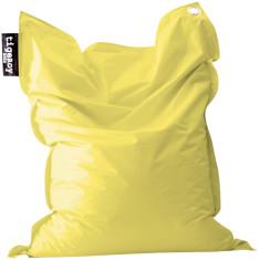 Big indoor/outdoor beanbag cover in flaxseed yellow