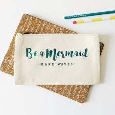 Be a mermaid pencil case