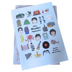 The Beatles alphabet notebook set