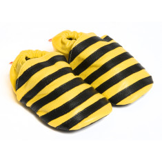 Bee soft sole leather baby shoes