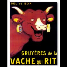 Vintage Bel et Bon ready to hang canvas print