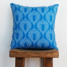 Boheme balladonna blue cushion