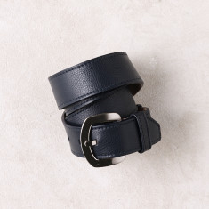 Jeans belt in navy