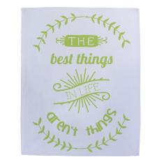 Best things tea towel