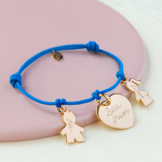 Women's personalised Family bracelet