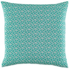Adele cushion in apple green and sliver