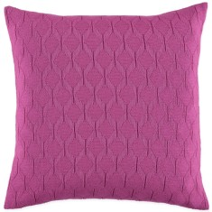 Albert cushion in cerise