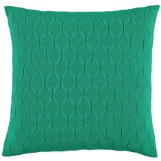 Albert cushion in emerald