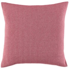 William cushion in red and sliver