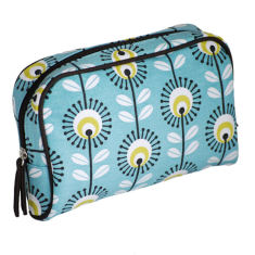 Tamelia Blue Pincushion makeup bag
