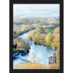 Beziers River Print